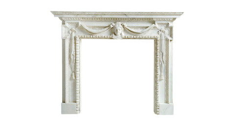 William Kent chimneypiece,  ca. 1730, offered  by James Graham-Stewart