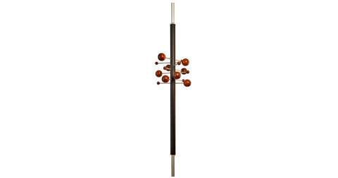 Osvaldo Borsani Model No. AT 16 adjustable coat rack, offered by The Gallery