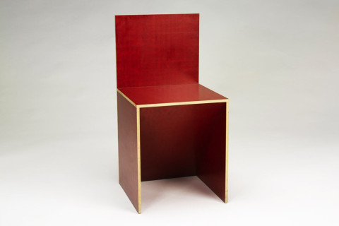 Donald Judd Chair, 1993
