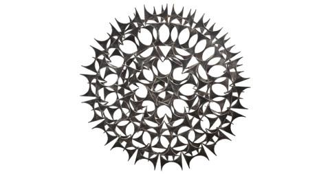 Mark Weinstein starburst sculpture, 1960s, offered by John Salibello