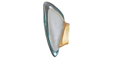 FontanaArte wall lamp, 1950, offered by Deposito A