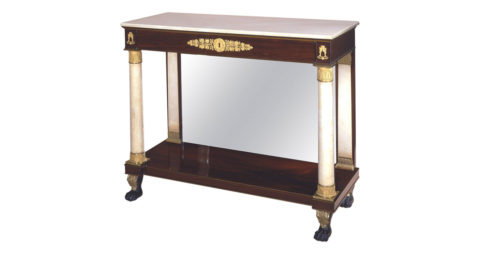 Pier table, 1815, offered by Carswell Rush Berlin