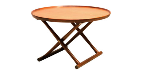 Mogens Lassen Egyptian table, 1940s, offered by Vance