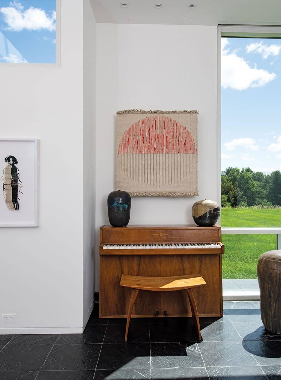 Tour a Richard Meier–Designed House That Celebrates American Craft