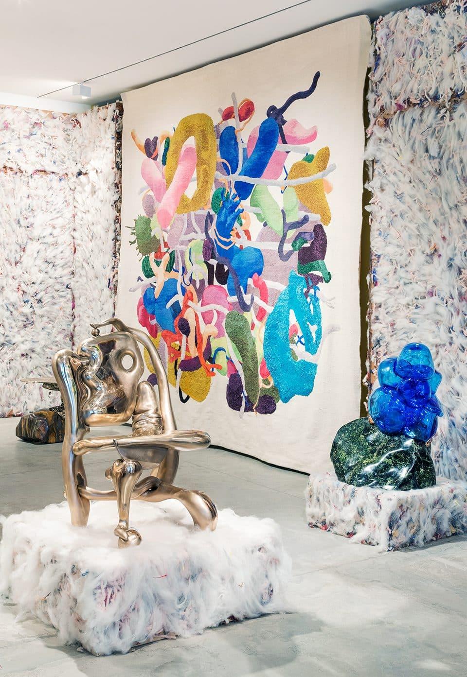 Misha Kahn's Arty Furniture Celebrates the Goopier Side of Life