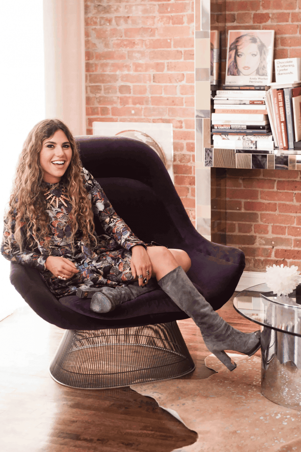 Marlo Laz's Magical Atelier Features Her Eclectic Jewels Amid Vintage Furniture Gems