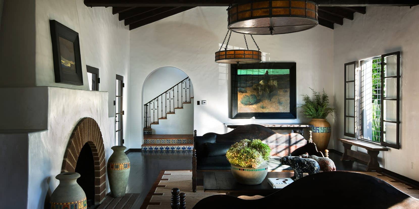 A Spanish Colonial–style home in Beverly Hills Stephen Shadely designed with Diane Keaton