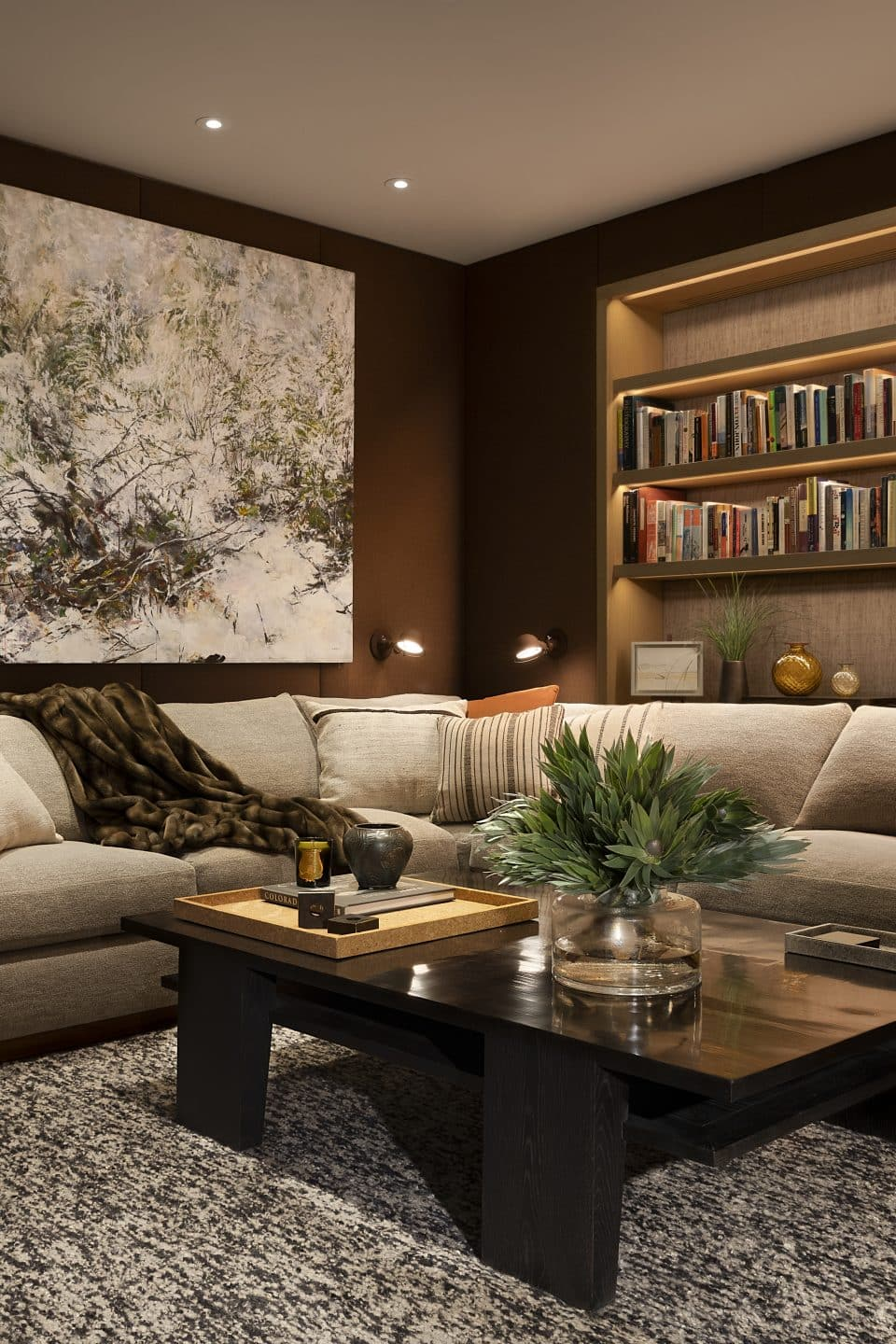 Clive Lonstein Shows how Luxe Warmth Wins the Day in Aspen