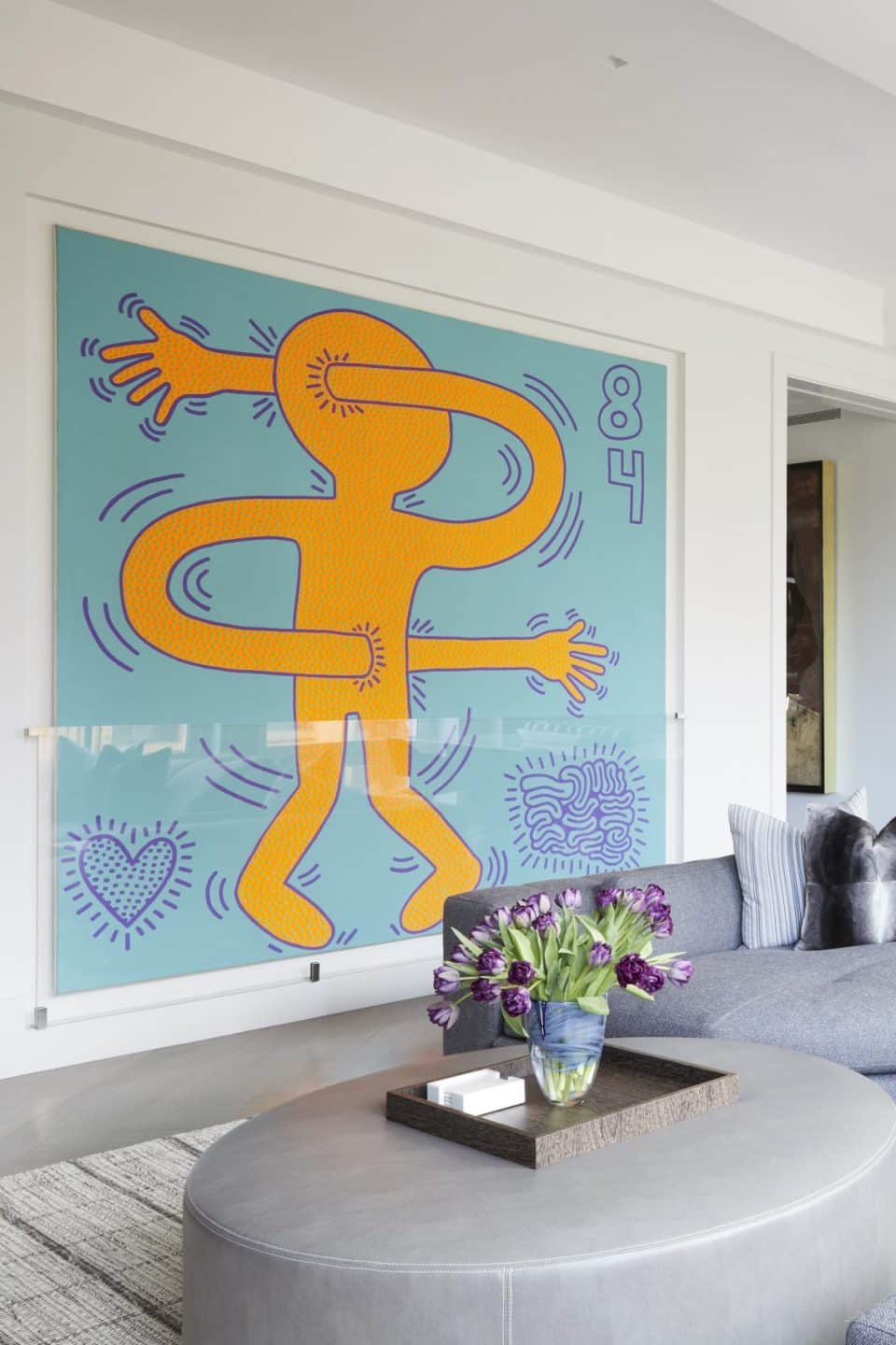 Tour a Tribeca Apartment with Blue-Chip Art in Every Room