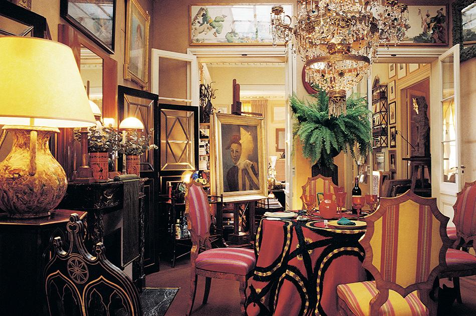 Grange's apartment