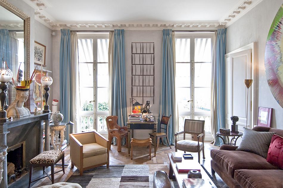 Grange's Paris Living Room