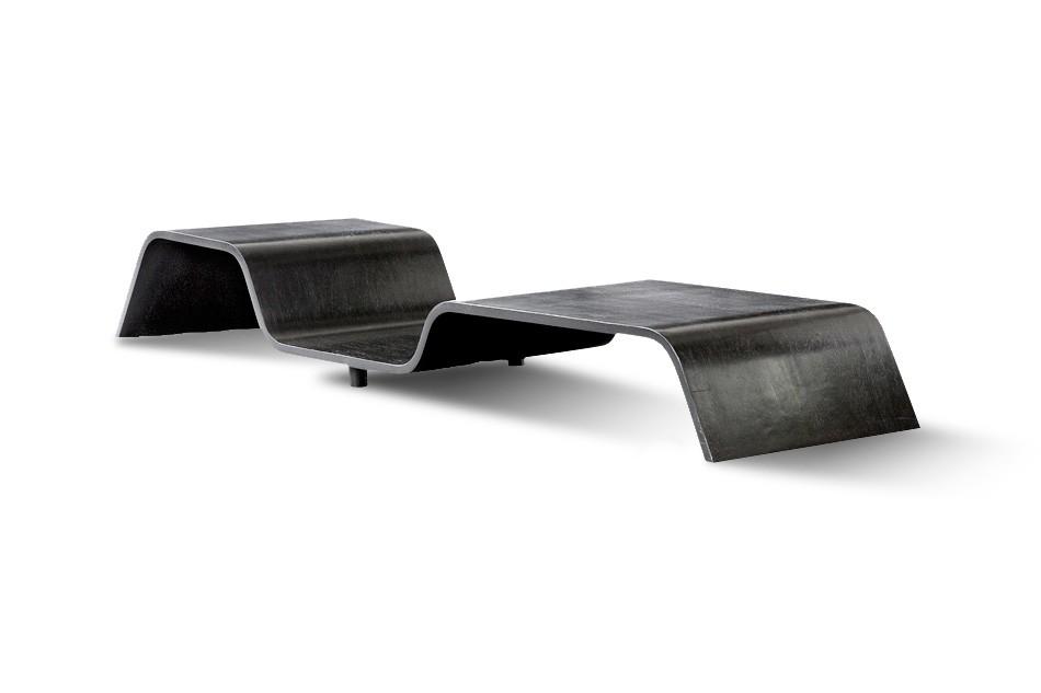 Undular coffee table by Oscar Niemeyer