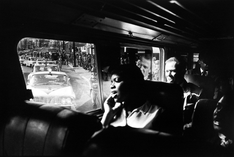 Bruce Davidson, Time of Change, 1963, offered by Howard Greenberg Gallery