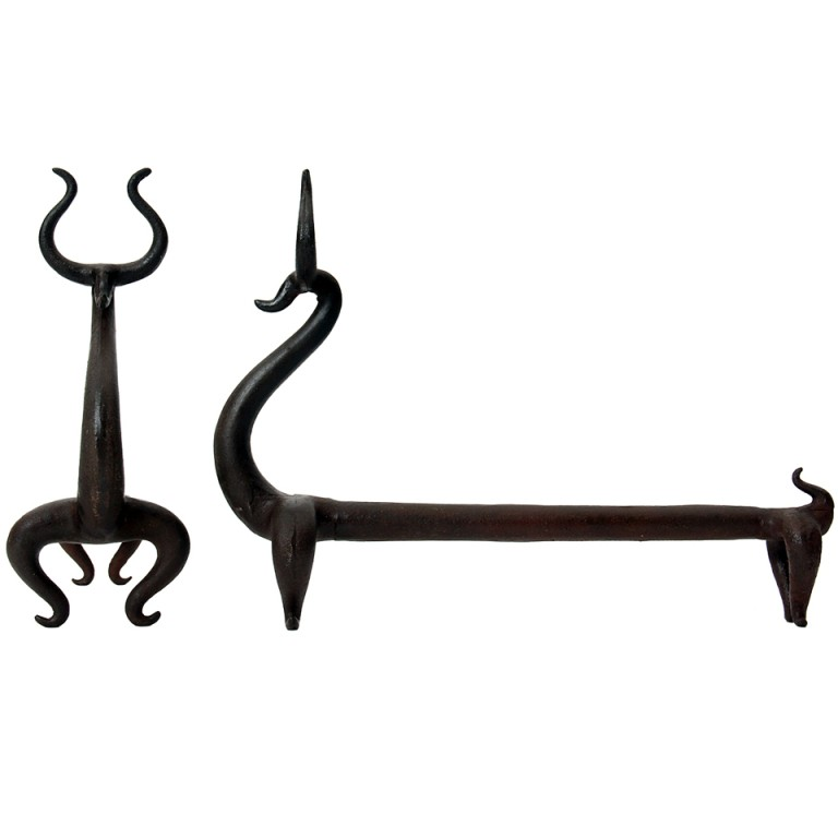 Deer Andirons By Russel Wright, offered by WYETH