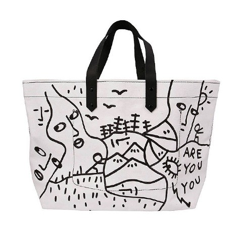 Tote Bag by Kelly Wearstler x Shantell Martin