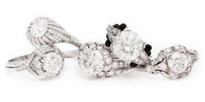 Fred Leighton Diamond Rings