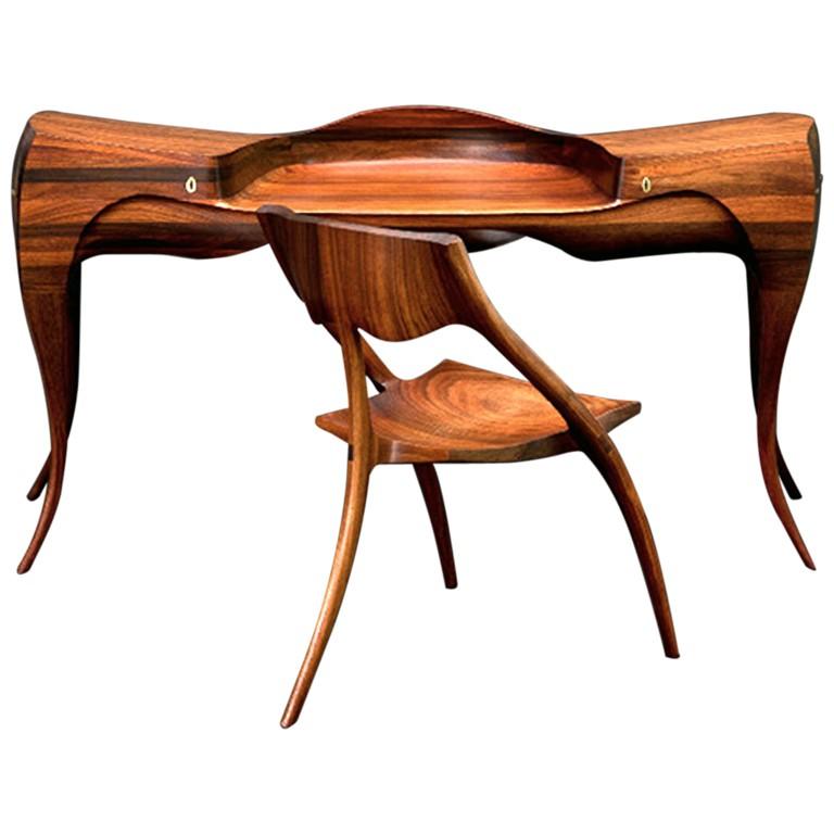 The Wendell Castle Vermillion Desk, 1965
