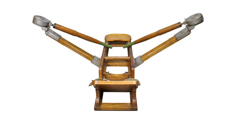 Lamborghini rowing machine, 1960s, offered by Novecento