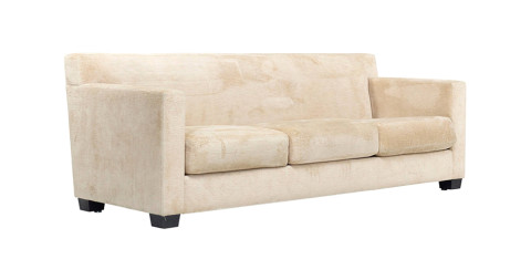 Jean-Michel Frank sofa for Ecart International, ca. 1978, offered by Wright Now
