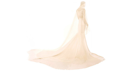 Norman Hartnell wedding gown, Spring 1931