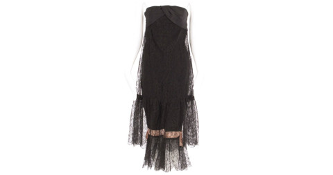 Balenciaga haute couture lace cocktail dress, Spring/Summer 1967