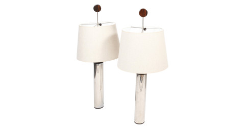 Sérgio Rodrigues J. Hirth lamps, 1960s, offered by James