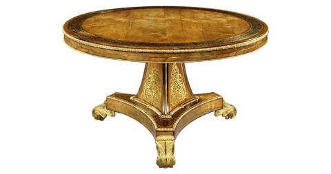 4. Regency rosewood center table, ca. 1815