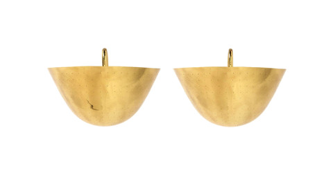 Wall-Mounted Sconces in the Style of Paavo Tynell, 1950s, offered by WYETH