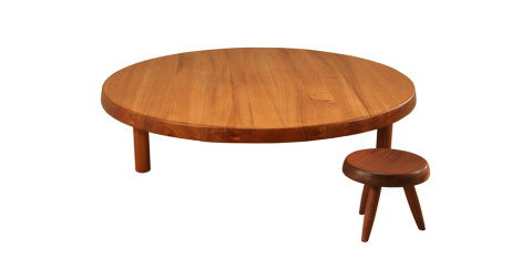 Pierre Chapo sidetable, 1960s, offered by Bloomberry