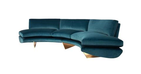 William T. Georgis Whalebone Sofa, 2014, offered by Maison Gerard