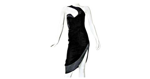 Thierry Mugler Velvet Evening Dress, 1980s, offered by Marilyn Glass