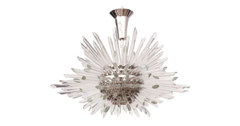 Miracle chandelier  by Bakalowits & Sohne, 1960s, offered by Quotient