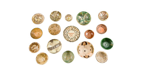 Collection of 18 Islamic and Persian bowls, mainly 12th-15th centuries, offered by Max Rollitt