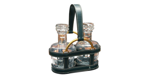 Hermès Paul Duprè-Lafon decanter set, offered by Branded Luxury