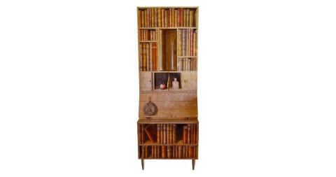Fornasetti Libri Trumeau secretary-cabinet-bar, 1990