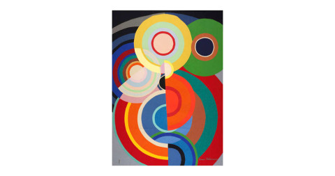 Sonia Delaunay tapestry, 1980