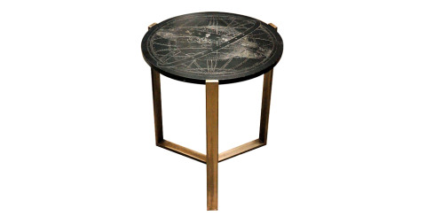 Marble-top table, 1940s–50s, offered by Double Vision