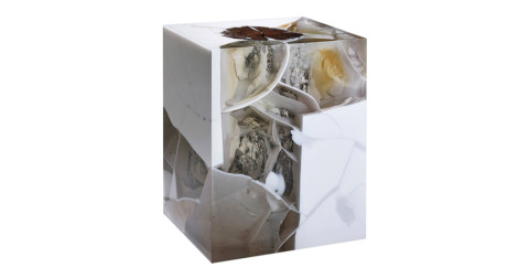 Nucleo quartz stone fossil, 2015, offered by Ammann Gallery