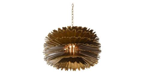 T.A. Greene for Feldman Lighting Orb chandelier, 1960s, offered by Stripe