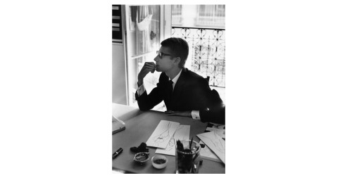 <i>Yves Saint-Laurent, France,</i> 1964, by Marc Riboud, offered by Peter Fetterman Gallery