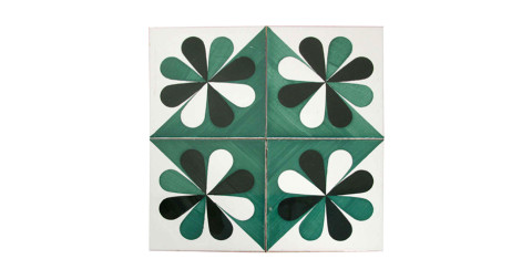 Ceramic tiles by Gio Ponti, offered by Donzella