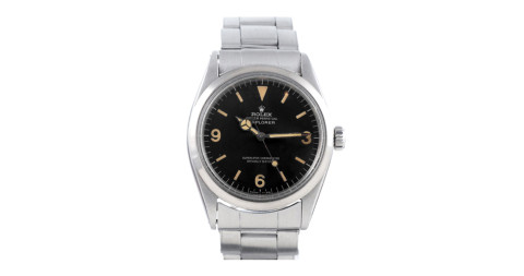 Rolex stainless steel Explorer wristwatch,  ca. 1967, offered by Fourtané