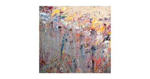 <i>1st Twist</i>, 1978, by Larry Poons, offered by Loretta Howard Gallery