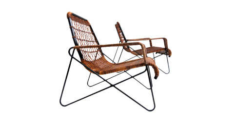 Raoul Guys Antony lounge chairs, 1954, offered by Art Broker Design