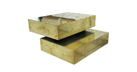Gabriella Crespi Sculpture coffee table, ca. 1970, Italy, offered by Harter Galerie