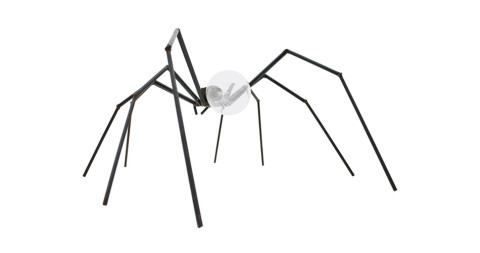 Brutalist spider lamp, circa 1970s, offered by inside-room