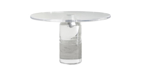 Charles Hollis Jones Le Dome dining table, 1975, offered by Cain Modern