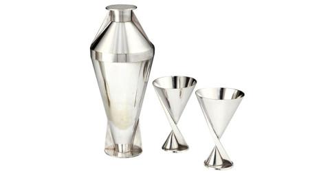Maison Desny cocktail shaker set, 1928
