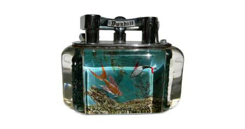 Alfred Dunhill Aquarium lighter, 1950