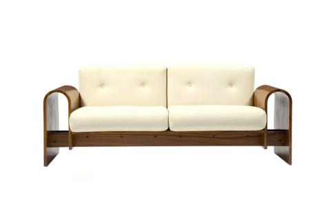 Oscar Niemeyer Two-Seat Sofa, 2007, offered by R & Company